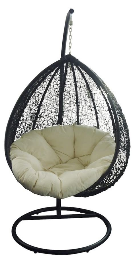 jaavan outdoor egg chair with stand