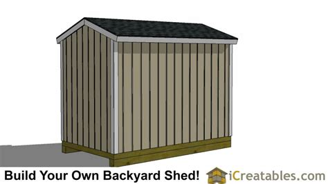 6x10 shed plans 6x10 storage shed pre hung door