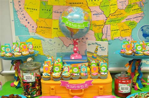 Oh The Places You Ll Go Decorations - oh the places you ll go staff appreciation ideas