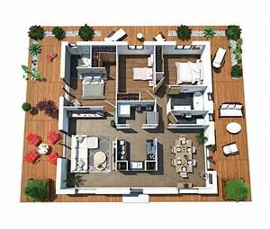 modele de maison villa dona With hygrometrie ideale dans une maison
