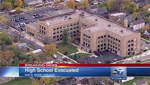 Harper High School evacuated due to 'strong chemical smell ...