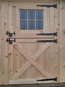 Wooden, 4x7, Dutch, Door, With, Window
