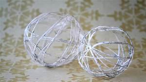 Boule De Noel A Fabriquer : deco boule de noel a fabriquer visuel 8 ~ Nature-et-papiers.com Idées de Décoration