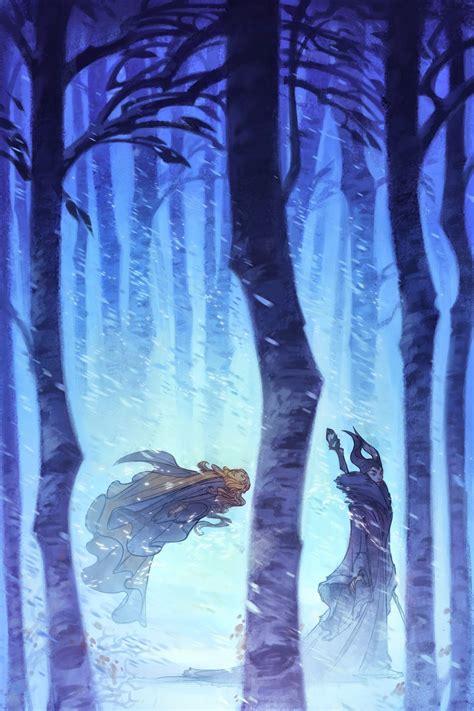 curse  maleficent  tale   sleeping beauty illustrations  nicholas kole