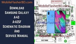 Samsung A40 A405f Schematic Service Manual Full Pack Free