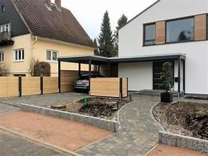 Carport Holz Modern : moderne einzelcarports im individuellen design carporthaus ~ Markanthonyermac.com Haus und Dekorationen