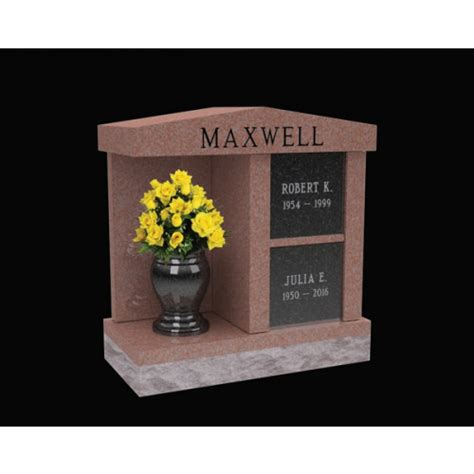 maxwell  niche columbaria  alcove cremation solutiond