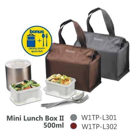primatoko weston mini lunch box ii 500ml grey