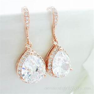 60 earrings for bridesmaids for wedding cubic zirconia With wedding ring earrings