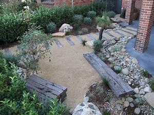 Boulders In Garden Design Northern Beaches Modern Zen Native Garden Landscapers Sydney