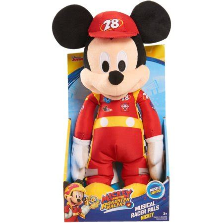 Disney Mickey Mouse Musical Set 11 disney roadster racers musical racer pals mickey 11 quot plush