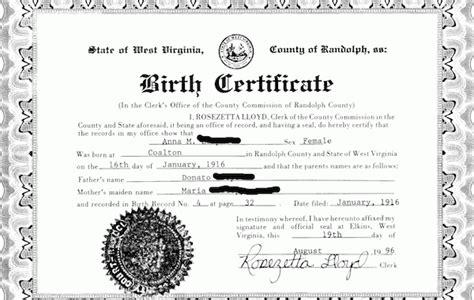 Search For Birth Certificates