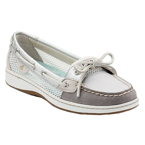 Sperry Angelfish Slip On Boat Shoe by Sperry Women S Angelfish Mesh Slip On Boat Shoes Sun Ski