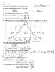 Normal Distribution Worksheet With Answers Pdf Livinghealthybulletin