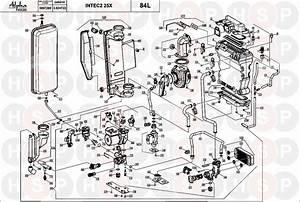 Alpha Intec 2 25xe  Boiler Exploded View  Diagram