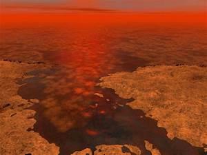 Ice May Float in Saturn Moon Titan's Seas