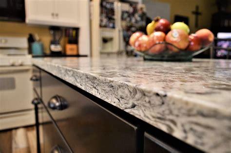 quartz versatop countertop eased edge detail equinox