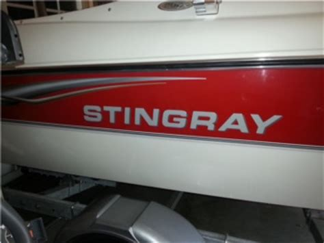 Caravelle Boat Replacement Decals by Stingray Replacement Domed Lettering