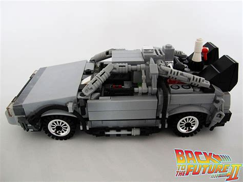 Delorean Autonomes Driften by Lego Reproduction Of Back To The Future S Delorean V12