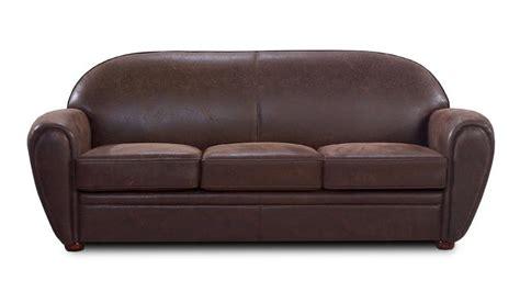 canapé rétro canapé en tissu imitation cuir 3 places ultra confort