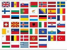 Find the European Flags Quiz