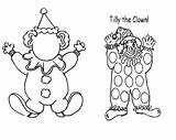 Clown Coloring Tilly Face Circus Coloriages Personnages Cartoon Getcoloringpages Coloriage Album Clip sketch template