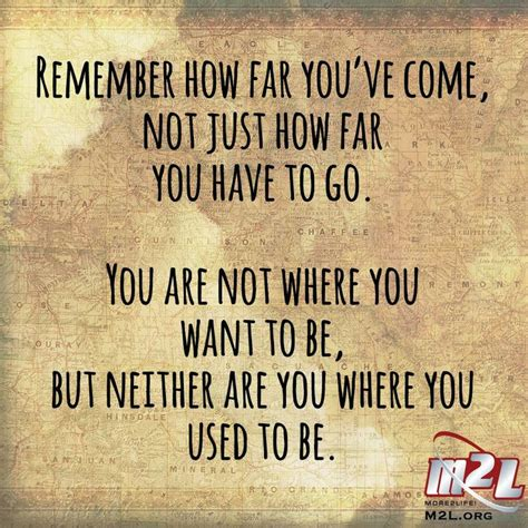 not angka how far i ll go remember how far you ve come not just how far you to