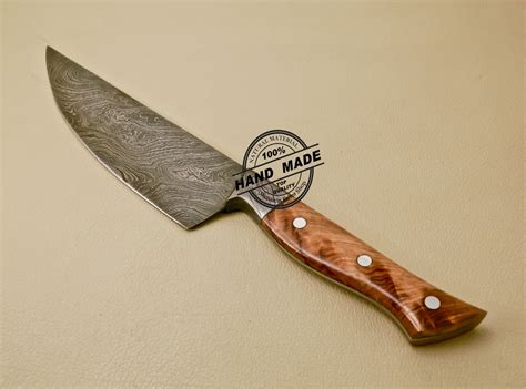 handmade kitchen knives for sale damascus kitchen knife custom handmade damascus kitchen