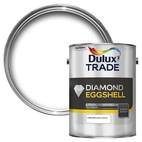 Dulux Trade Interior Pure Brilliant White Eggshell Wood