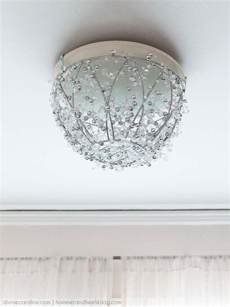 How To Make Your Own Chandelier by How To Make A Diy Chandelier In An Hour Ideas For The