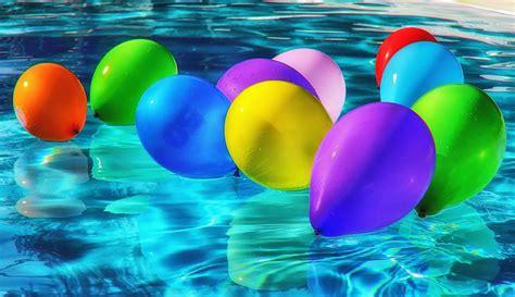 kostenlose bild schwimmbad bunt ballon wasser