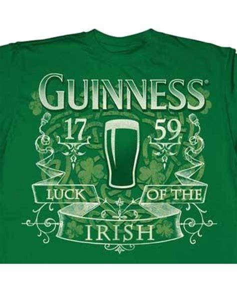 Luck Of The Irish Guinness Tshirt