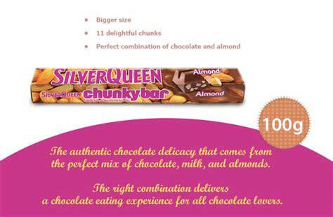 contoh iklan coklat silverqueen  bahasa inggris