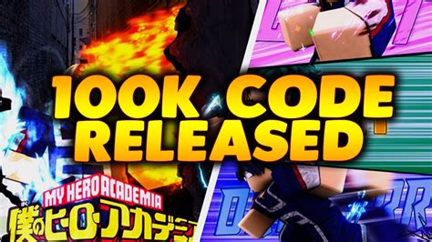 New 100k Code In Boku No Roblox Remastered