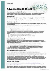 advance care directive forms sa templates resume With advance care directive template