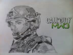 Call of Duty Soldier Drawings