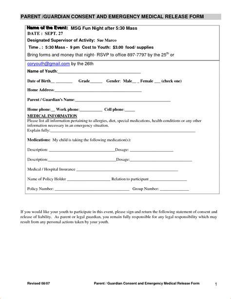 blank medical release form blank medical records release form printable medical