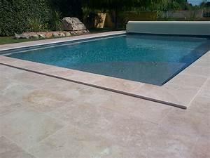 Dallage Travertin Extérieur : piscine ~ Edinachiropracticcenter.com Idées de Décoration