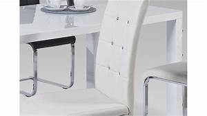 Stuhl Weiß Chrom : stuhl tiffany in wei chrom und diamant applikation 6er set ~ Indierocktalk.com Haus und Dekorationen