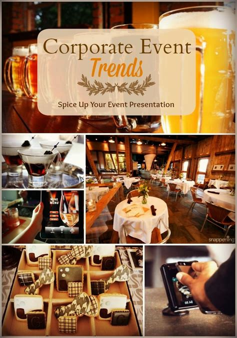 corporate event trends spice   company event