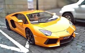 Beautiful Yellow Lamborghini Car Photo Wallpaper