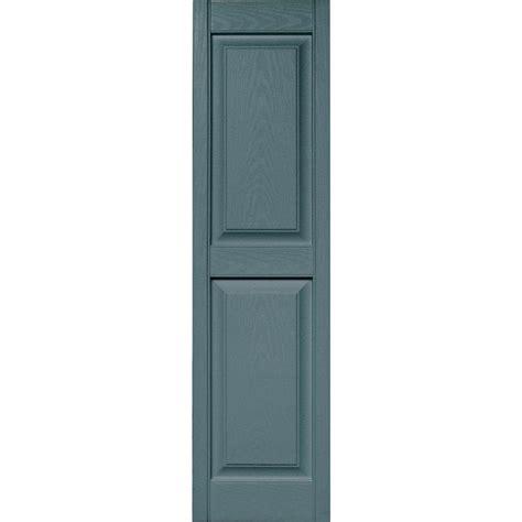 builders edge 15 in x 59 in raised panel vinyl exterior
