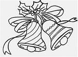 Jingle Coloring Pages Bells Bell Printable Getdrawings Getcolorings sketch template