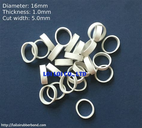 small size wide solid white rubber band  binding hot seller compound rubber bands