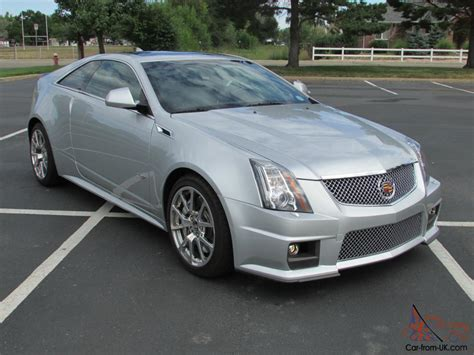 cadillac two door 2012 cadillac cts v coupe 2 door 6 2l one owner only