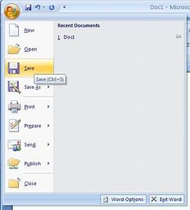 Saving a Document : Document Save « Editing « Microsoft ...