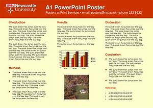 academic poster template a1 With a1 size poster template powerpoint