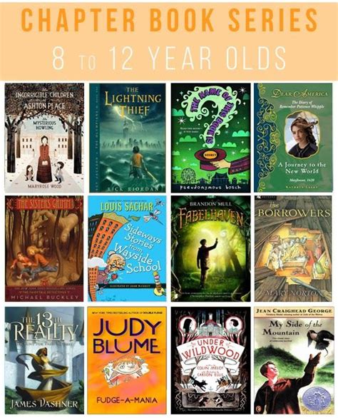 great chapter book series     year olds