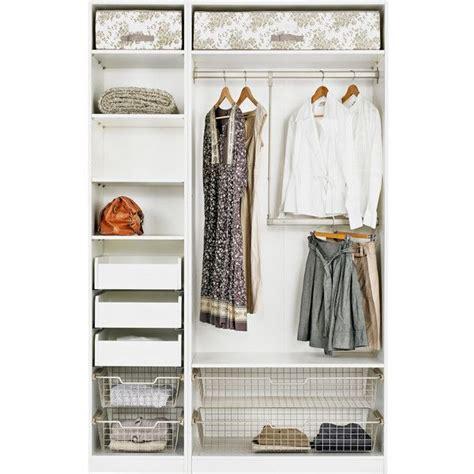 Pax Hemnes Kleiderschrank by Ikea Pax Wardrobe With Interior Organizers White Hemnes