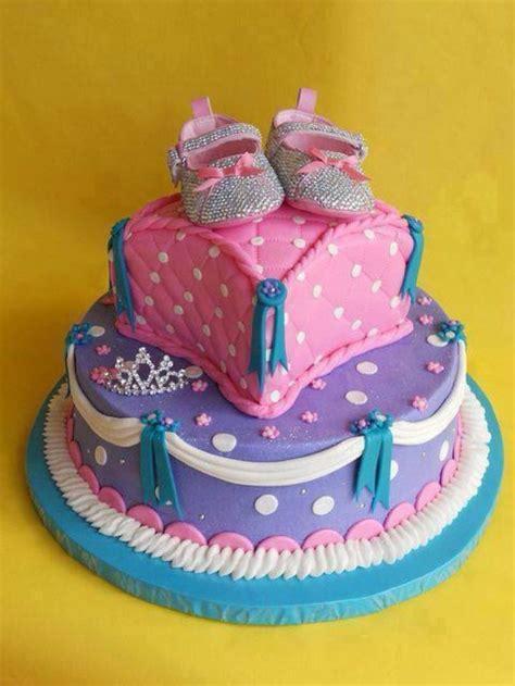 lovely baby girl  birthday cake ideas